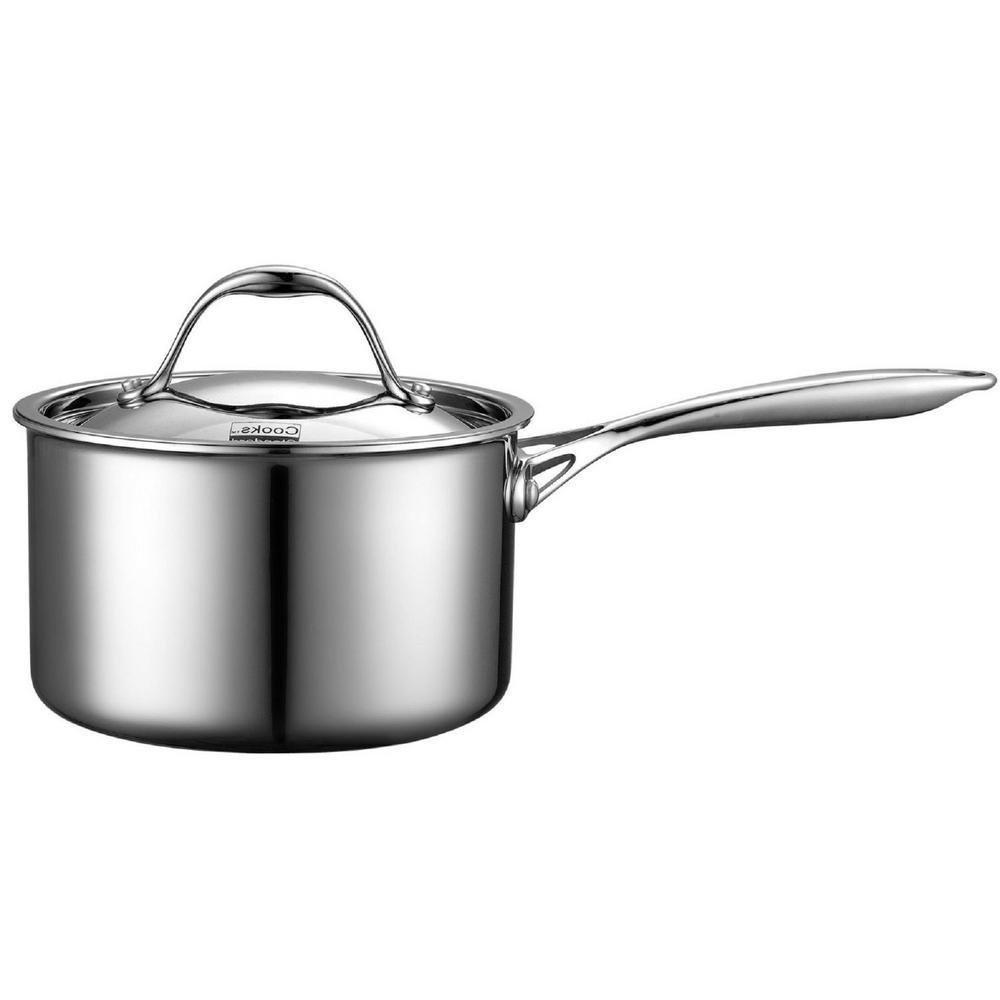 3 Qt. Stainless Steel Saucepan