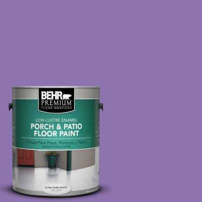 1 gal. #P570-5 Romantic Moment Low-Lustre Porch and Patio Floor Paint