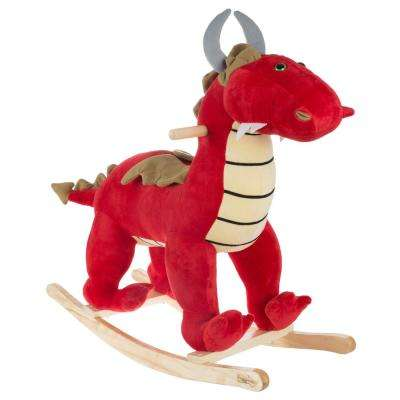 Red Dragon Rocking Animal