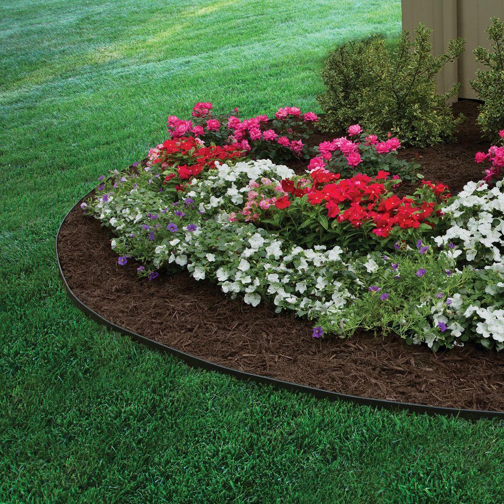 Proflex No Dig 100 Ft Landscape Edging Kit 3001hd 100c The Home Depot