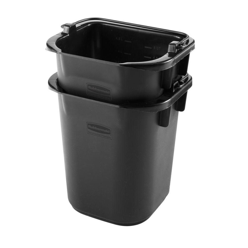 Executive Series 5 Qt. Grey Heavy Duty Pail