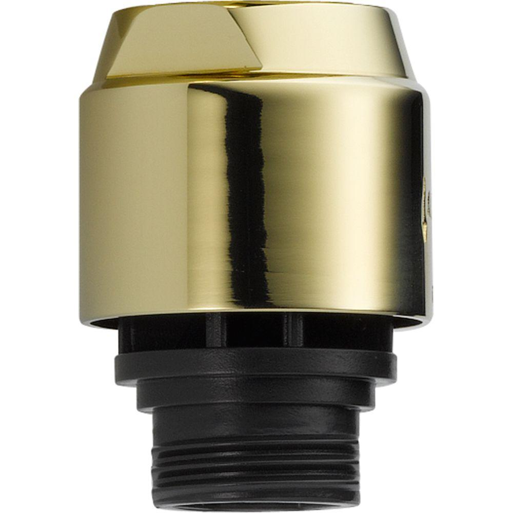 Delta Vacuum Breaker in Polished Brass-U4900-PB-PK - The Home Depot