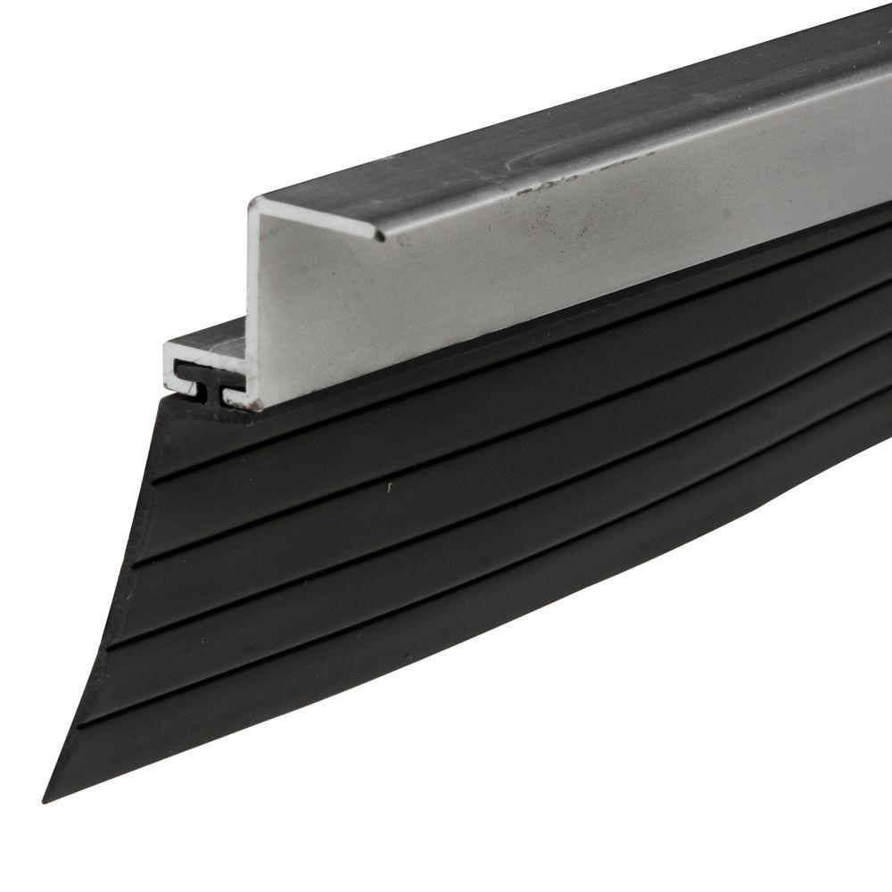 Prime-Line 1-1/4 in. Flap 8 ft. Clear Anodized Aluminum Bug Seal