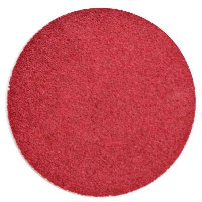 3 in. 50-Grit Red Heat Sander Disc (25-Pack)