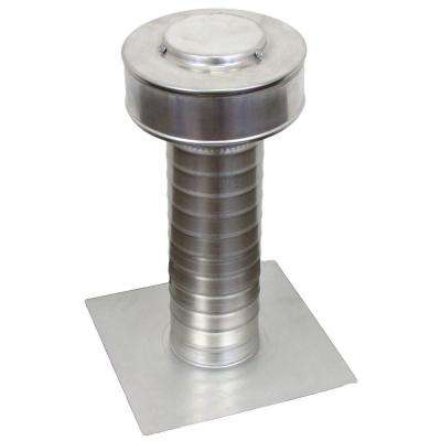 4 in. Dia Keepa Vent an Aluminum Roof Vent for Flat Roofs