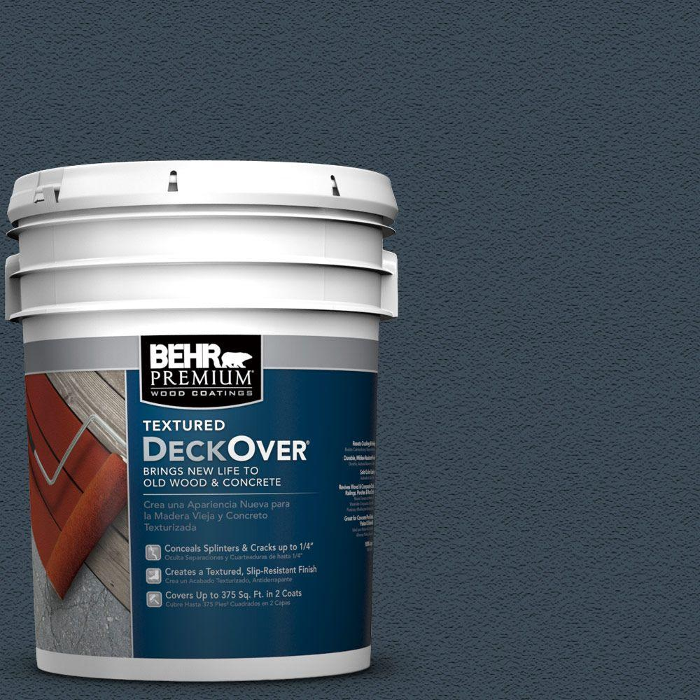 Behr Premium Textured Deckover 5 Gal Sc 101 Atlantic Solid Color Exterior