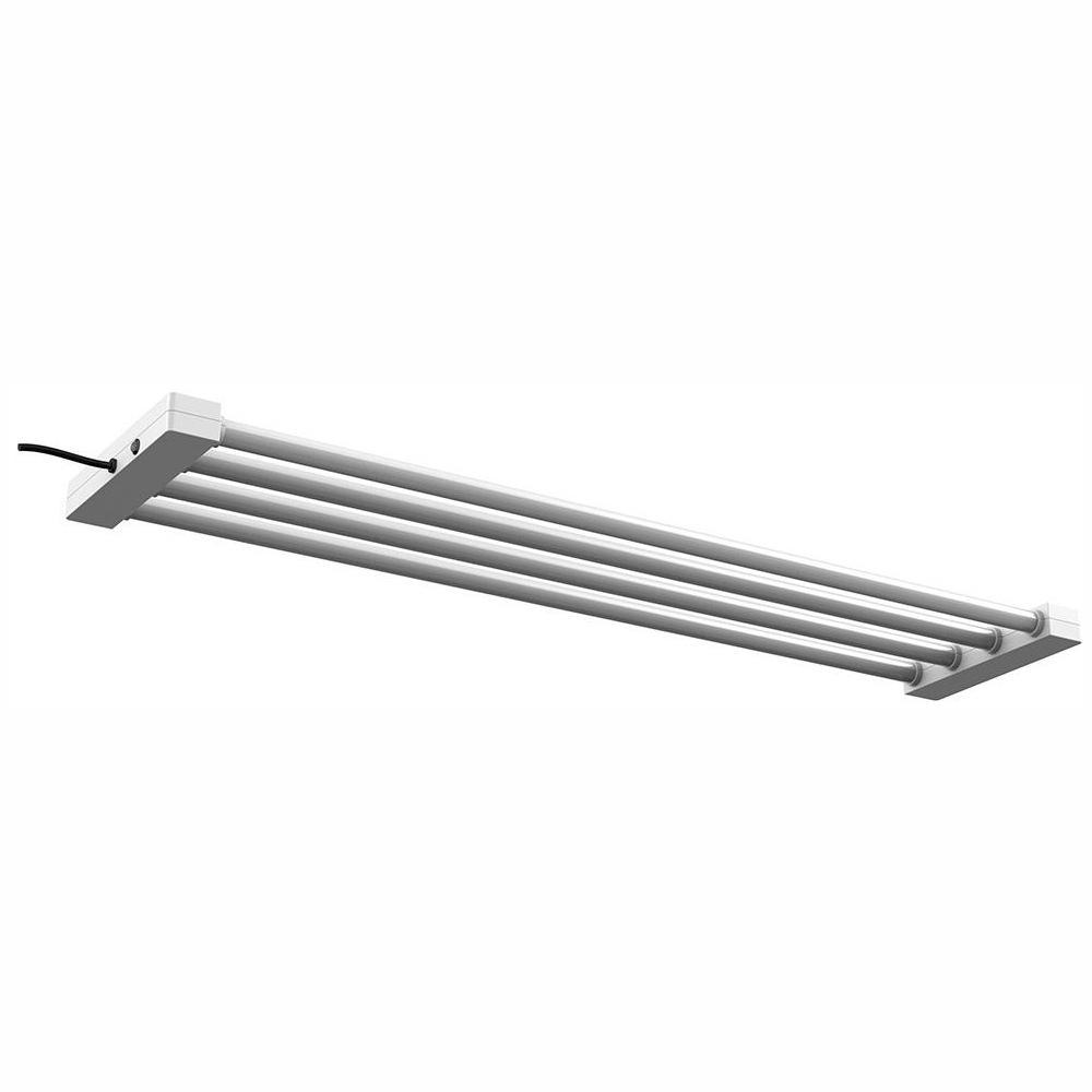 Feit Electric 4 ft. 4-Light 76-Watt White Integrated Utility LED Shop Light