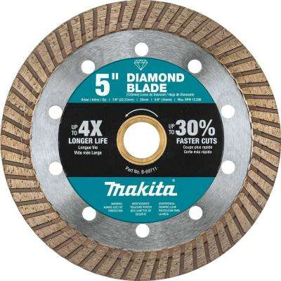 5 in. Turbo Rim Diamond Blade for General Purpose