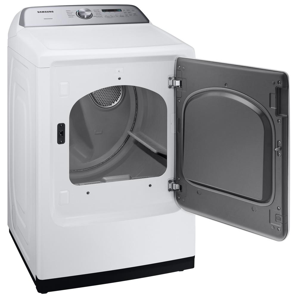 Samsung 7 4 cu  ft  White Gas Dryer with Sensor Dry