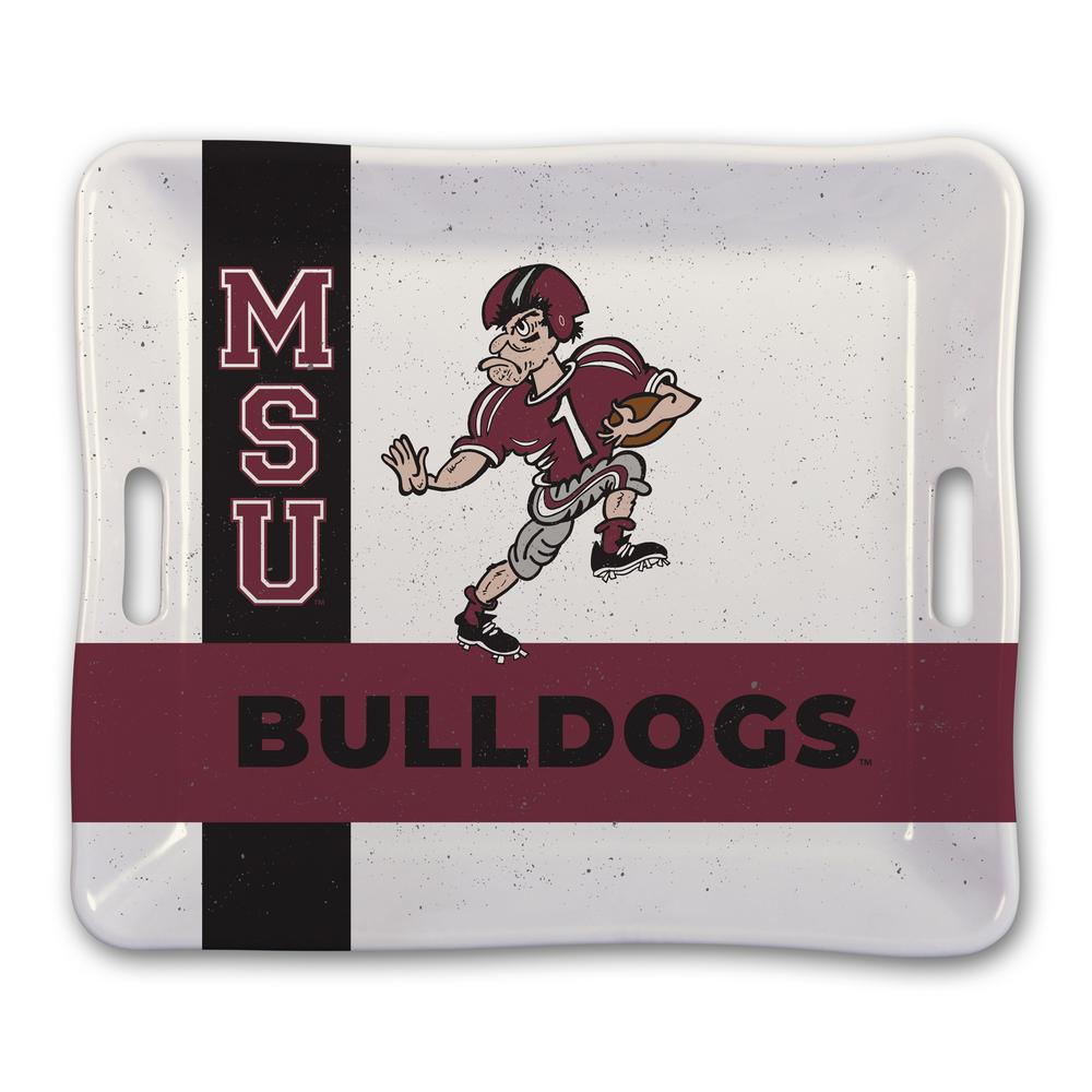Mississippi State Melamine Serving Tray