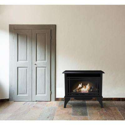 30,000 BTU 32 in. Intermediate Vent Free Dual Fuel Gas Stove