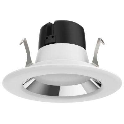 ProLED 4 in. White Integrated LED Recessed Ceiling Light Dimmable JA8/Title 24 CEC Retrofit Trim Wet Location Daylight