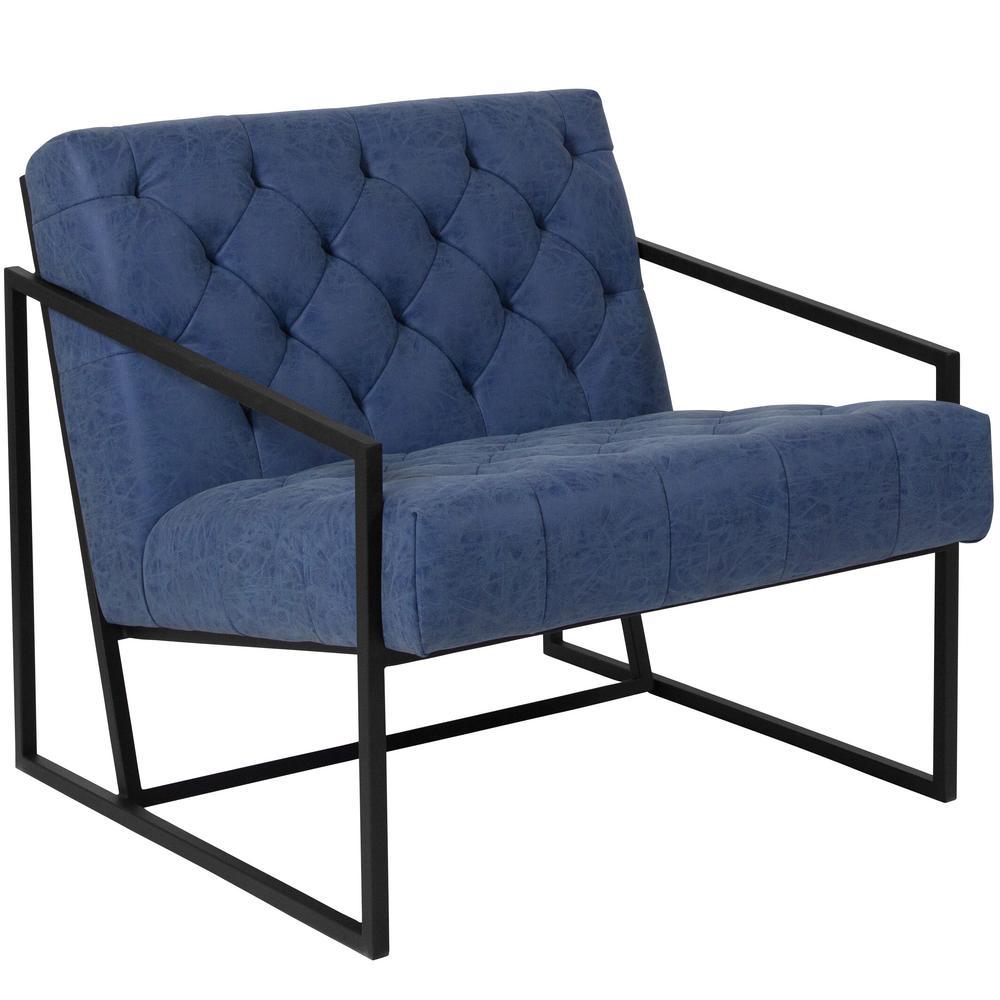 Retro Blue Office/Desk Chair