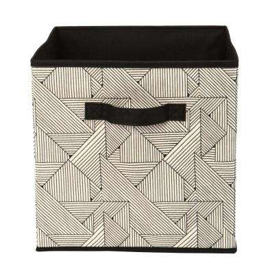 12 in. Geo Natural Storage Cube