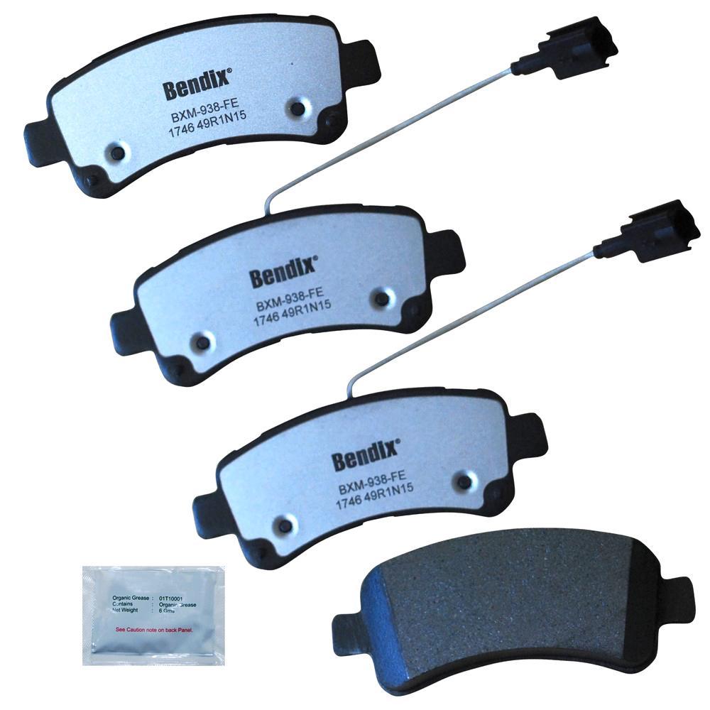 Bendix Fleet Metlok Semi Metallic Sdr Disc Brake Pad