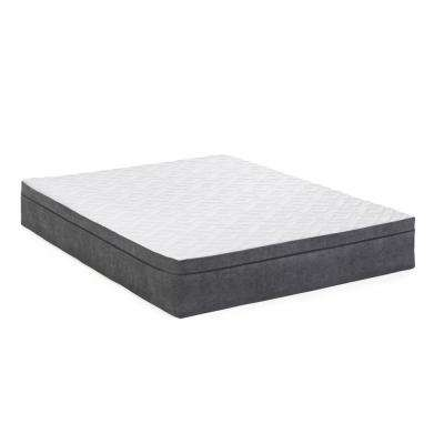 12 in. Lilac King Memory Foam Mattress
