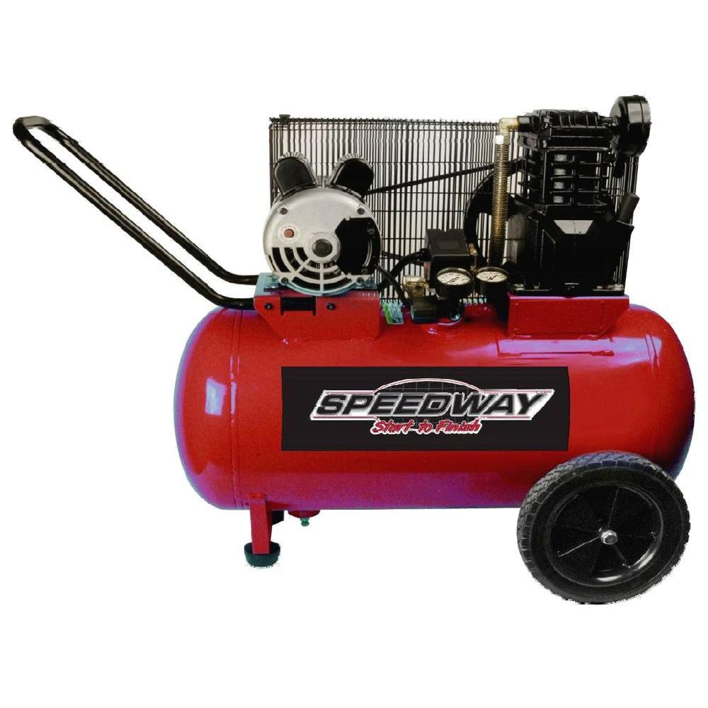 20 Gal. 2 HP Cast Iron Electric Air Compressor