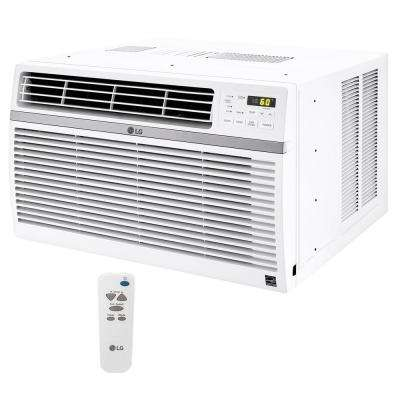 12,000 BTU 115-Volt Window Air Conditioner with Remote and ENERGY STAR in White