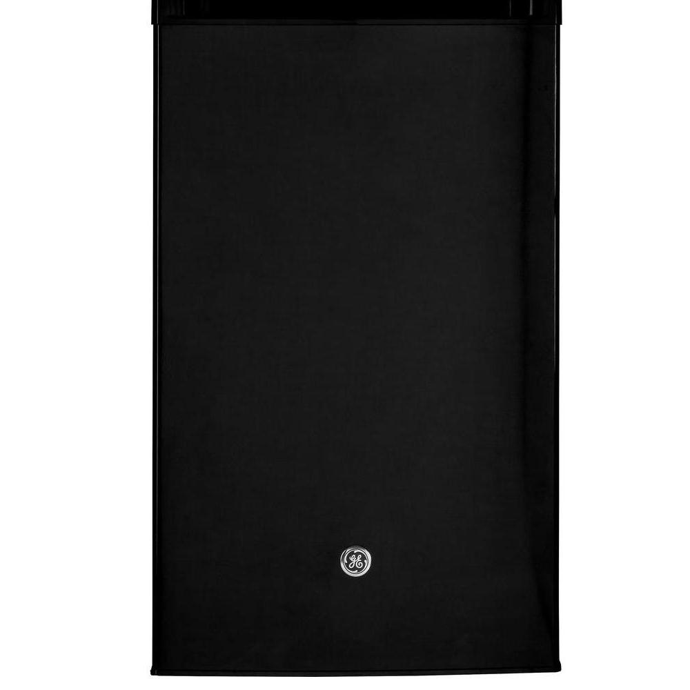 342ea7cf95f GE 4.4 cu. ft. Mini Refrigerator in Black-GME04GGKBB - The Home Depot