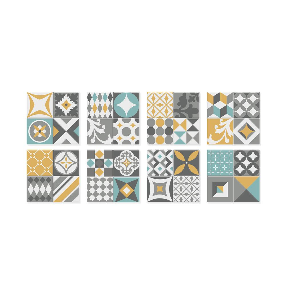 Smart Tiles Vintage Cadiz 9 In W X 9 In H Peel And Stick Self