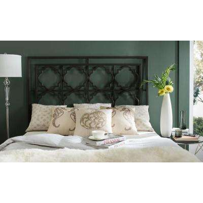 Silva Gunmetal King Headboard