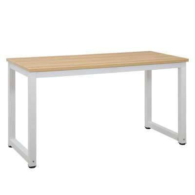 Grover Natural White Large Office Desk