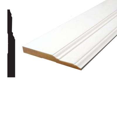5/8 in. x 5-1/2 in. x 96 in. Primed MDF Base Moulding