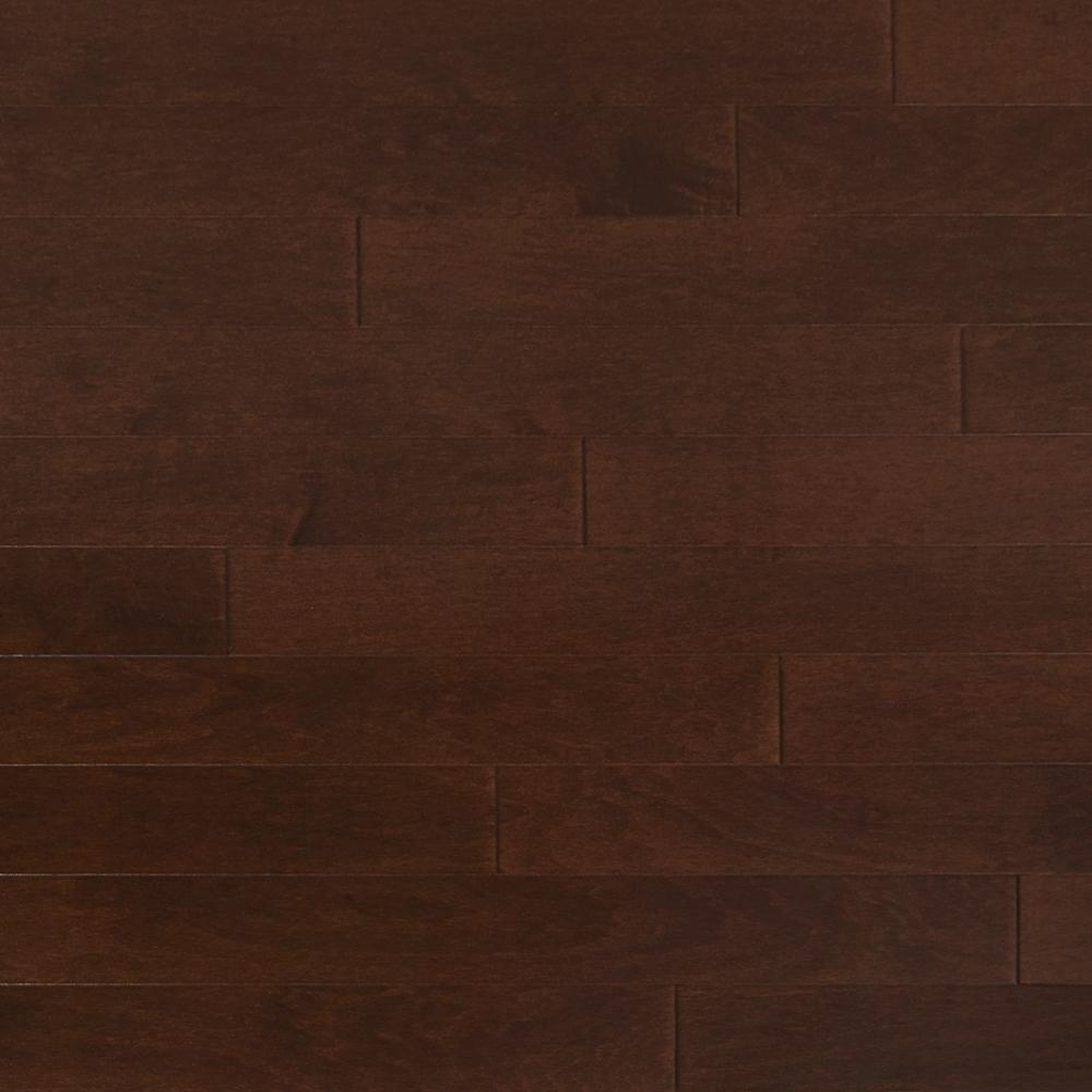 Heritage Mill Take Home Sample Maple Bronze Engineered Click Hardwood Flooring 5 In. X 7 In., Bronzed