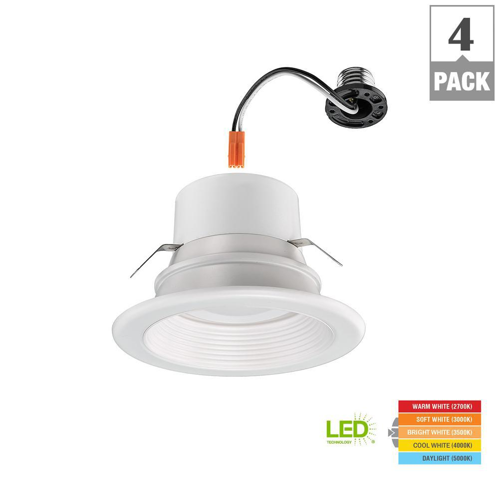 Commercial Electric 4 In Lumen And Color Changeable Integrated Led
