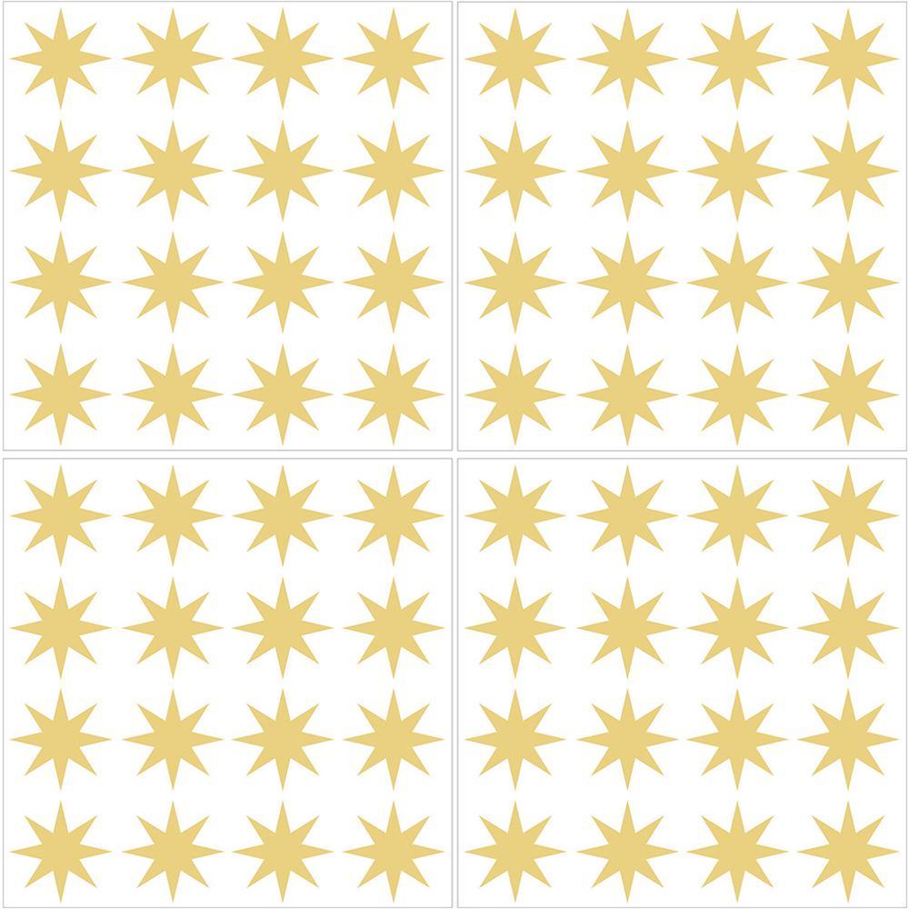 WallPOPs Metallic Gold Stars Wall Decal (Set of 2)-TWPK2665 - The ...
