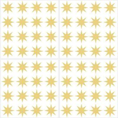 Metallic Gold Stars Wall Decal (Set of 2)