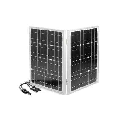 60-Watt Polycrystalline Folding Solar Panel with Cable for enCUBE1.8 Portable Solar Inverter Generator