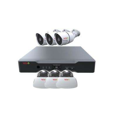 Aero HD 1,080p 8-Channel Video Security System with 6 Indoor/Outdoor Cameras