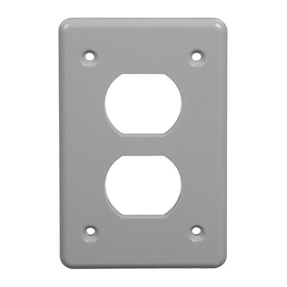 Carlon Pvc Fs Box Cover For Single Duplex