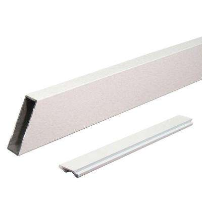 6 ft. White Aluminum Wide Stair Picket and Spacer Rail Kit
