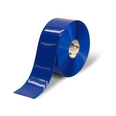 4 in. Blue Heavy-Duty Floor Tape 100 ft. Roll
