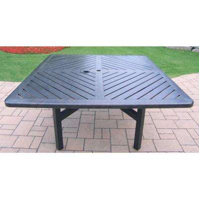 Vanguard Aluminum Square Patio Dining Table