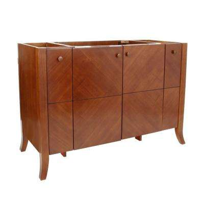 Clermont 50 in. W x 21.5 in. D x 33.25 in. H Vanity Cabinet Only in Oxford