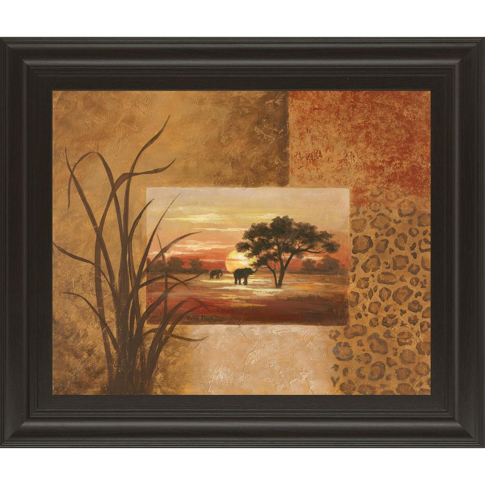 Classy Art 22 In X 26 African Elephant By Vivian Flasch Charger With Electrical Outlet Blacktr7740bkbox The Home Depot