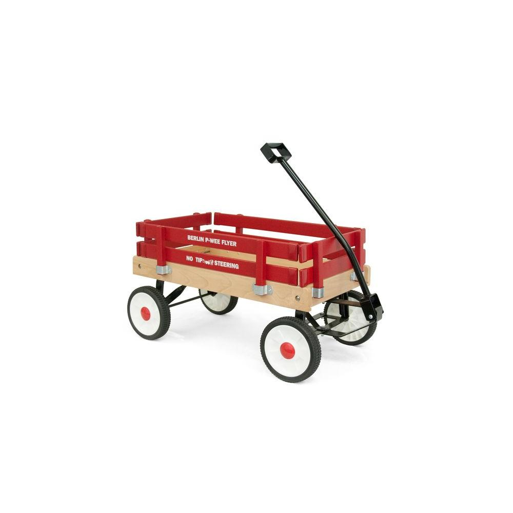 luxor 0.99 cu. ft. All Purpose Wooden Pee-Wee Wagon