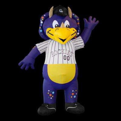 7 ft. Colorado Rockies Inflatable Mascot