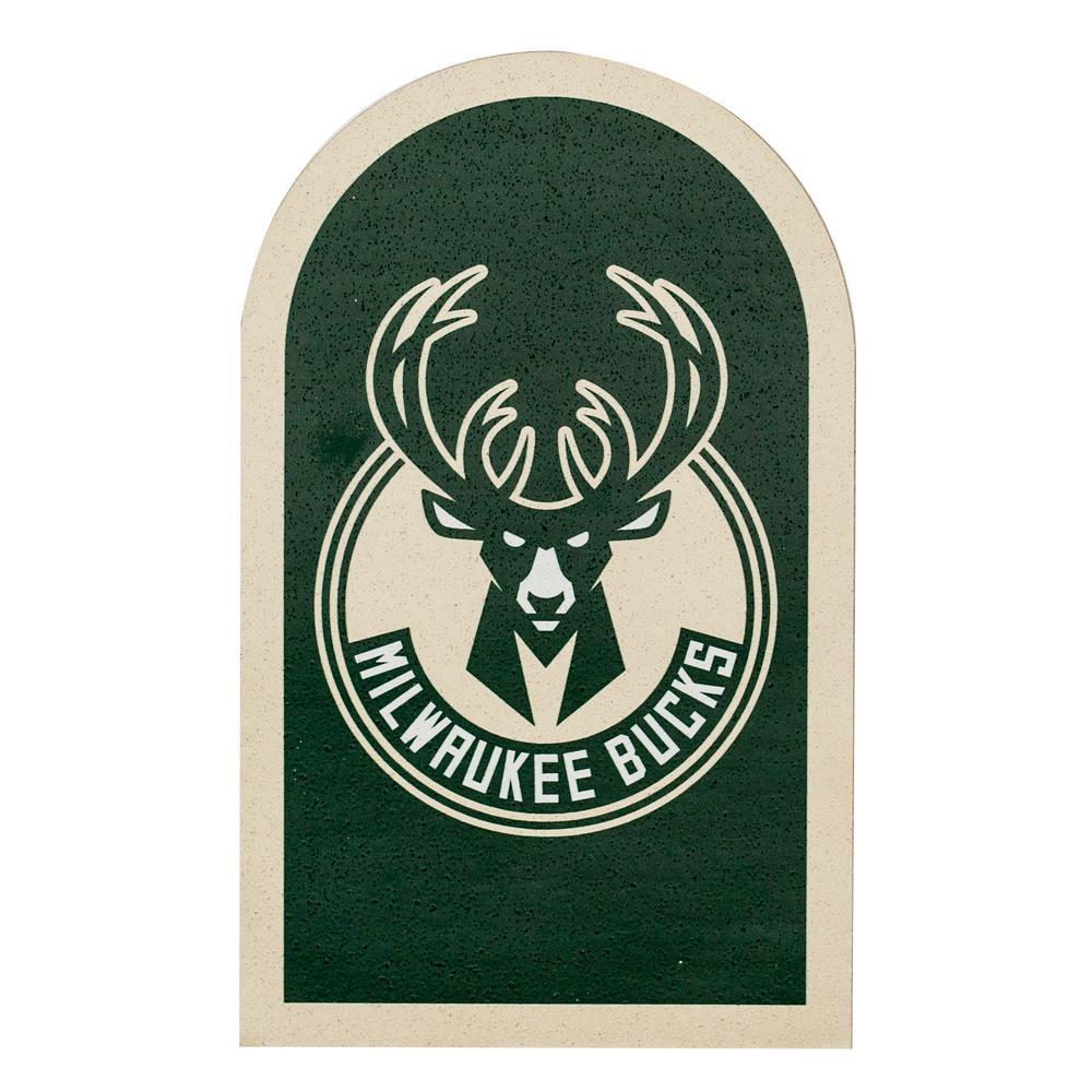 NBA Milwaukee Bucks Mailbox Door Logo Graphic