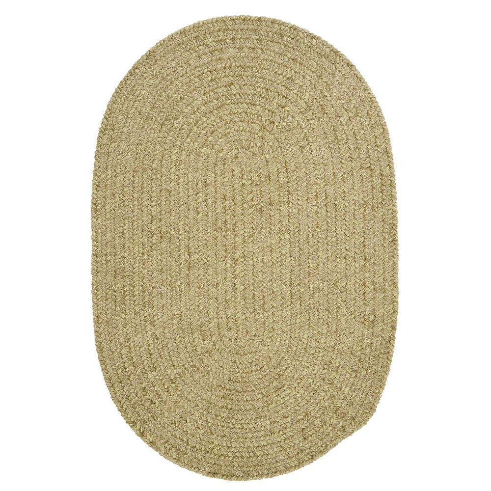 Home Decorators Collection Dover Chenille Celery 6 Ft. X 9