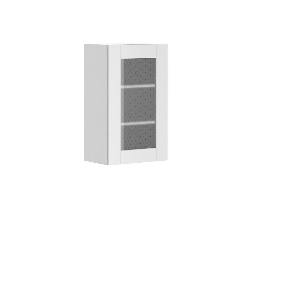 Dublin Ready to Assemble 18x30x12.5 in. Oxford Wall Thermofoil Cabinet with
