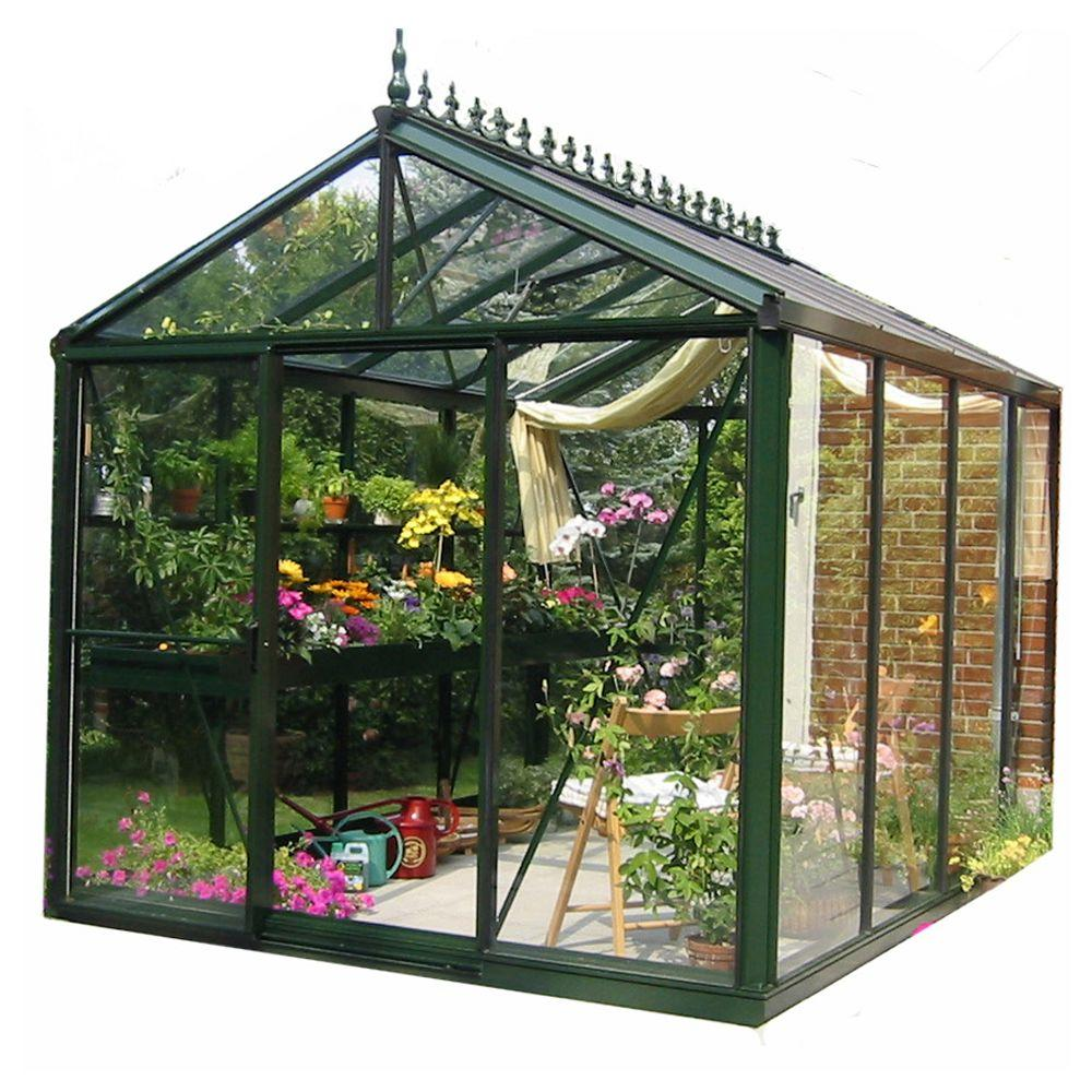 Exaco Royal Victorian 8 Ft X 10 Ft Greenhouse Vi 23 Pp3l The Home Depot