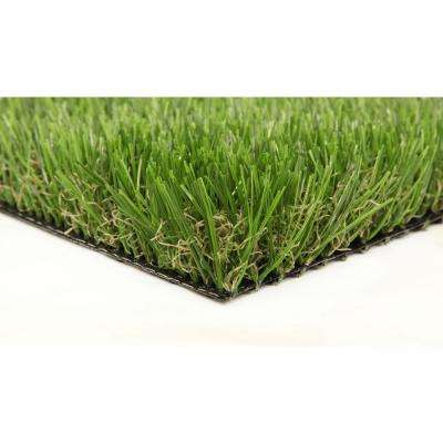 Classic Premium 65 Spring 15 ft. x 25 ft. Artificial Synthetic Lawn Turf Grass Carpet for Outdoor Landscape
