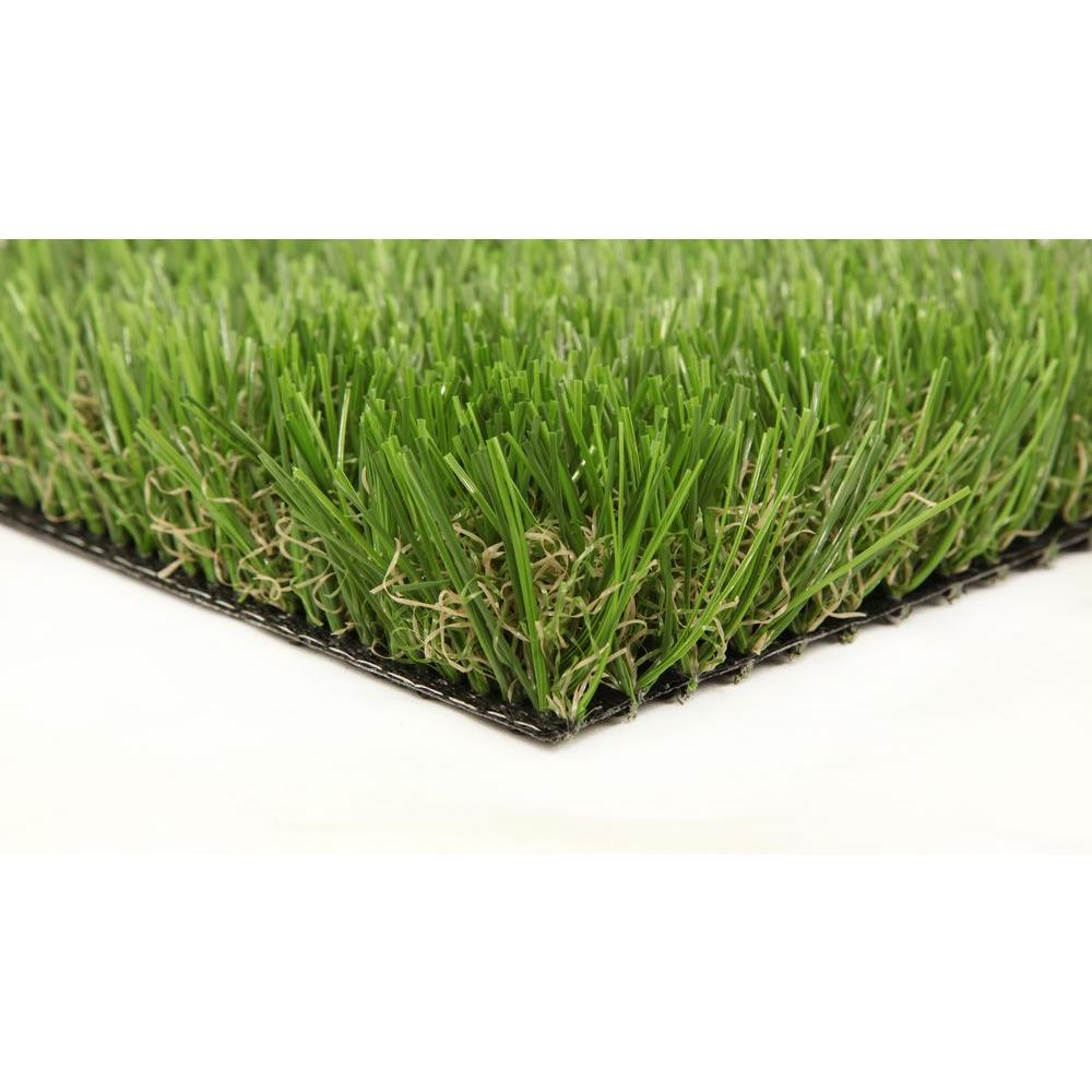GREENLINE Classic Premium 65 Spring 5 ft. x 10 ft. Artificial Synthetic Lawn Turf Grass Carpet for Outdoor Landscape