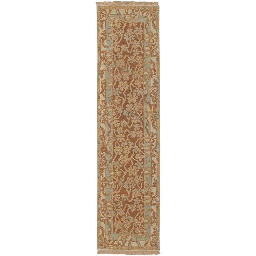 Artistic Weavers Cardenas Cognac 2 ft. 6 inch x 10 ft. Runner by