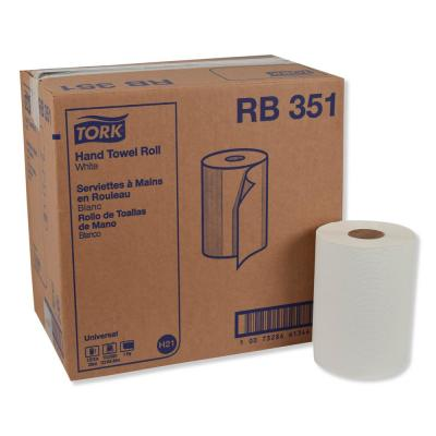 Universal Hardwound Paper Towels, 7.88 in. x 350 ft., White, (12-Carton)