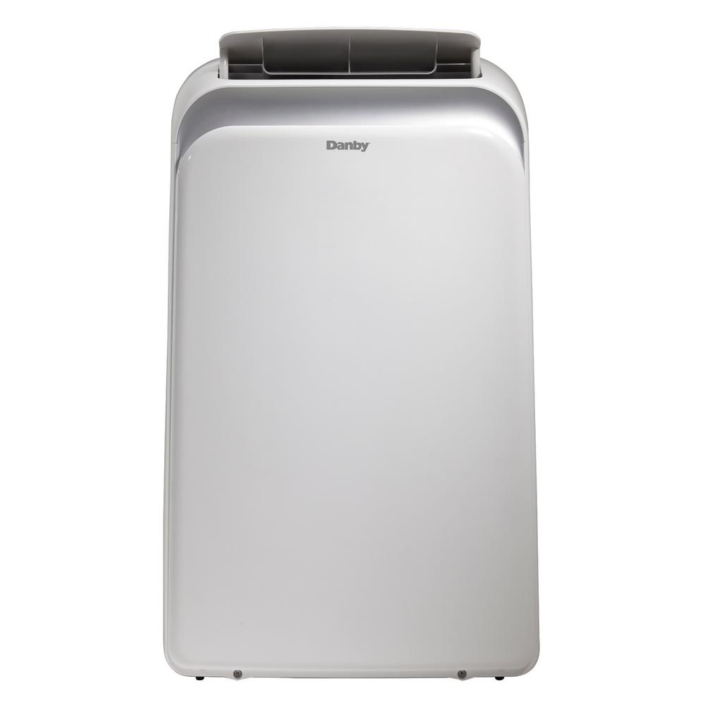 Danby 14000 Btu 9000 Sacc Portable Air Conditioner With Dehumidifier And Ionizer In White Dpa140b1wdb 6 The Home Depot